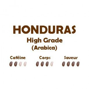 HONDURAS High Grade (Arabica) 250g