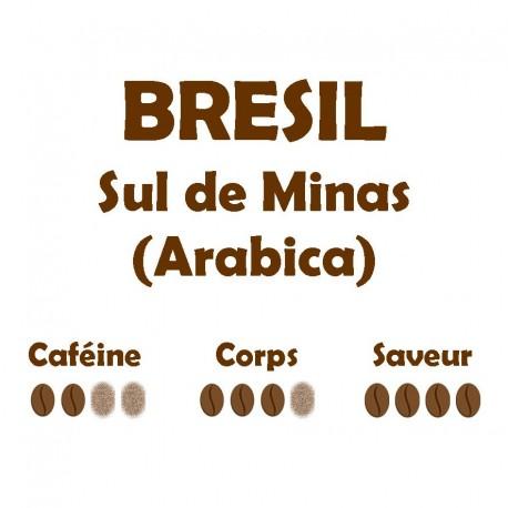 BRESIL Sul de Minas (Arabica) 250g
