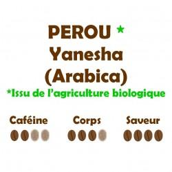 PEROU YANESHA (Arabica) 250g